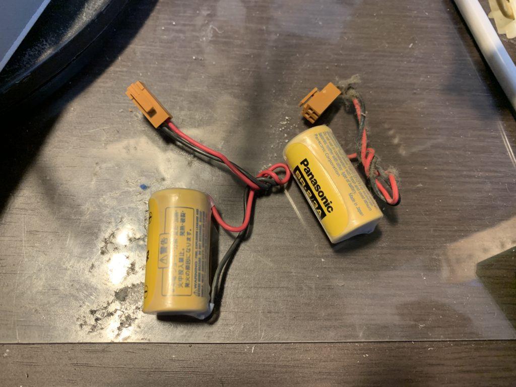 内蔵バッテリ