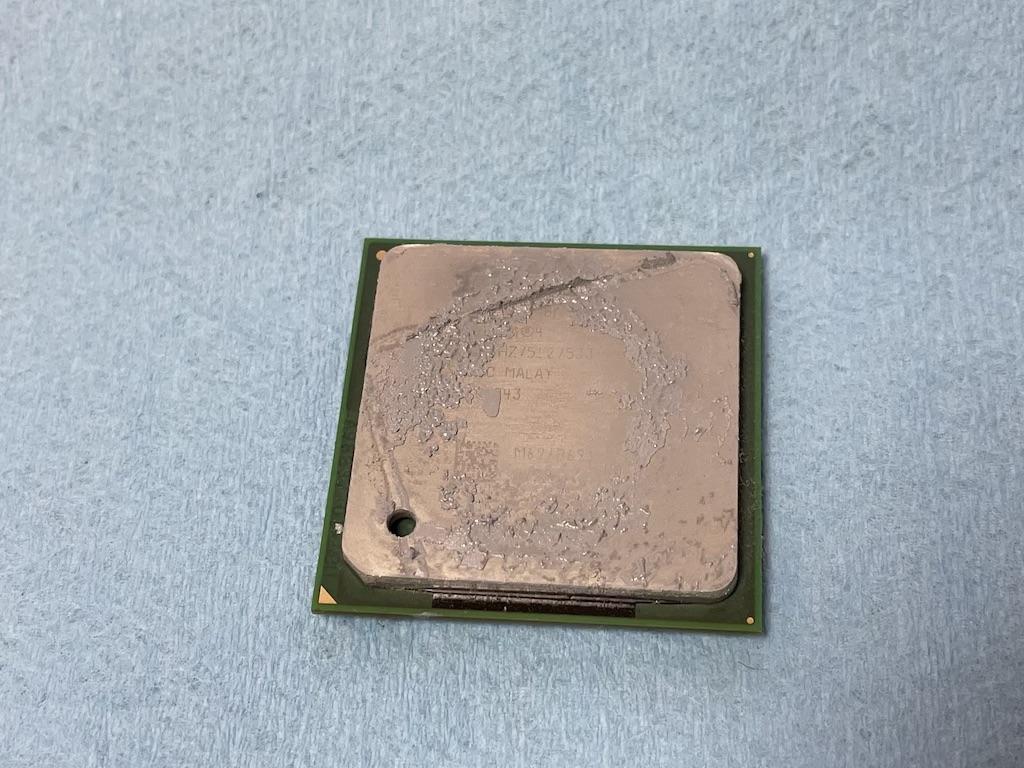 CPU側劣化グリス