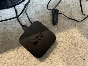 AppleTV電源シガーソケット化