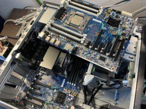 HP Z440内部