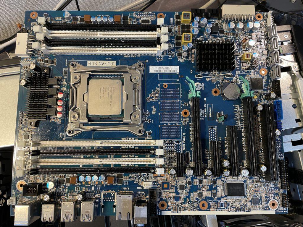 HP Z440交換用システムボード