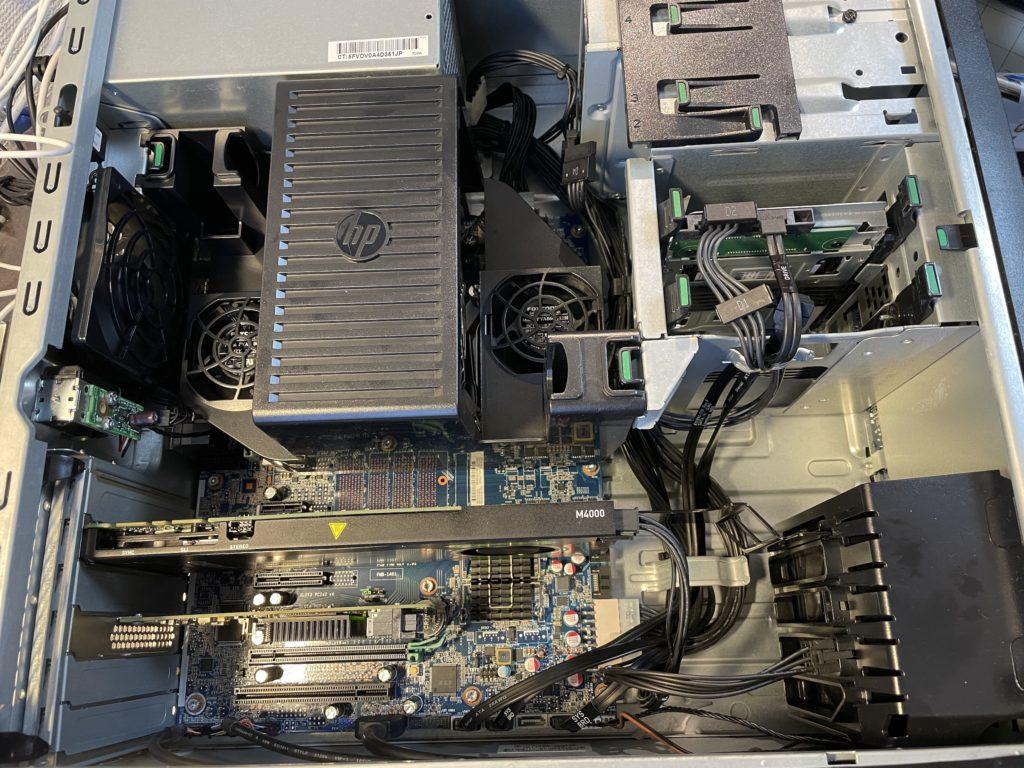 HP Z440組み上げ