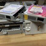 元HDDとクローンHDD