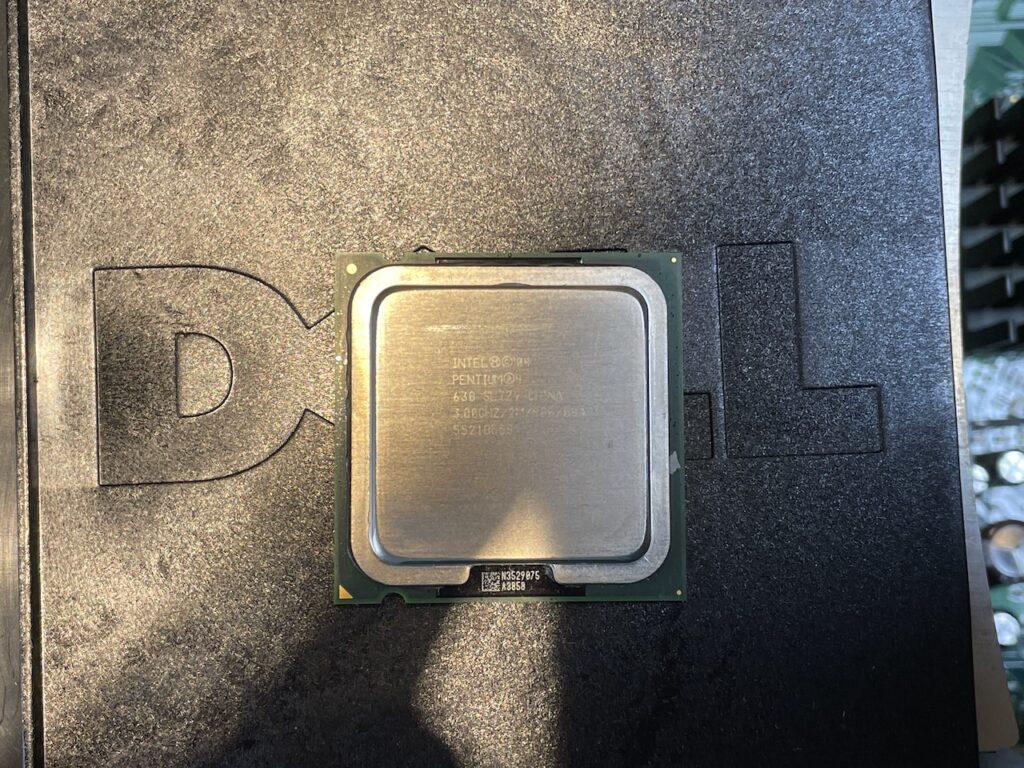 交換用Pentium 4 3GHz