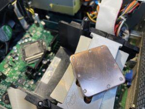 CPUヒートシンク清掃